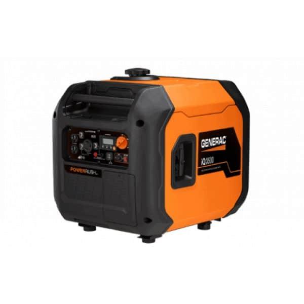 Generac Iq3500 W Inverter Portable Generator, 50 St Csa Model# 7127 1
