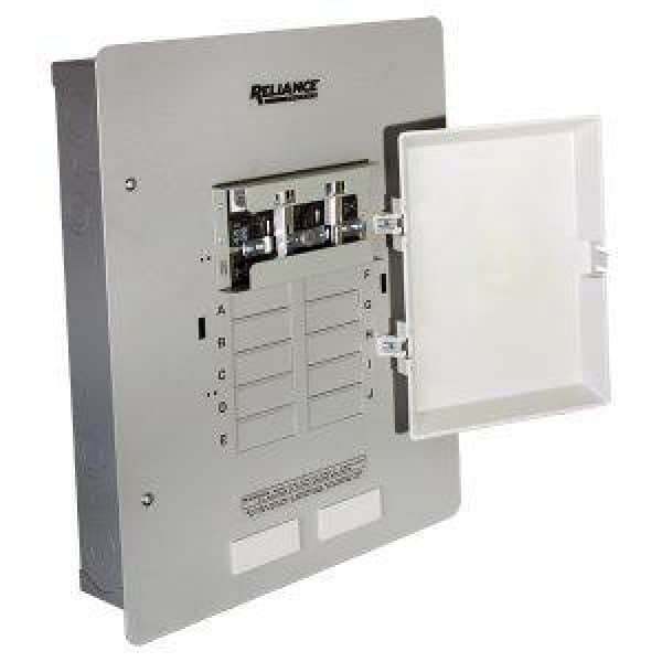 Winco 30 Amp Reliance Manual Transfer Switch Model #Xrk0603D 1